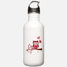 Owl LOVE Water Bottle