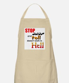 Stop, Drop and Roll.... BBQ Apron