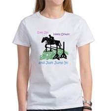 Fun Hunter/Jumper Equestrian Horse T-Shirt