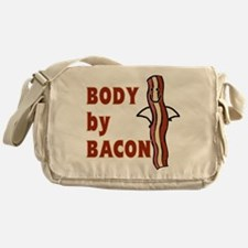BODY by BACON T-shirt Messenger Bag