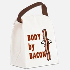BODY by BACON T-shirt Canvas Lunch Bag