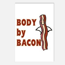 BODY by BACON T-shirt Postcards (Package of 8)