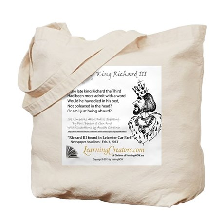 Finding King Richard III Tote Bag