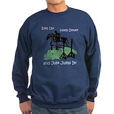 Fun Hunter/Jumper Equestrian Horse Sweatshirt