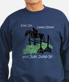 Fun Hunter/Jumper Equestrian Horse Sweatshirt