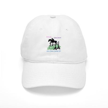 Fun Hunter/Jumper Equestrian Horse Baseball Cap