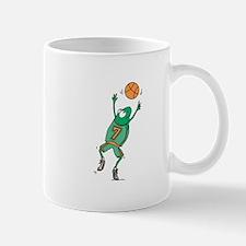 Cute Frog Basketball Player Mug