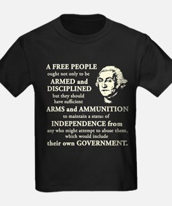 Washington Quote - A Free People T