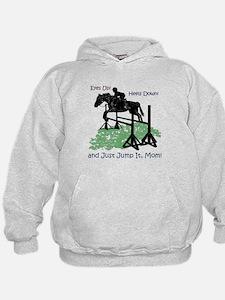 Fun Hunter/Jumper Equestrian Horse Hoodie