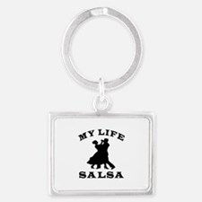 My Life Salsa Landscape Keychain