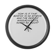 Bitchin Large Wall Clock