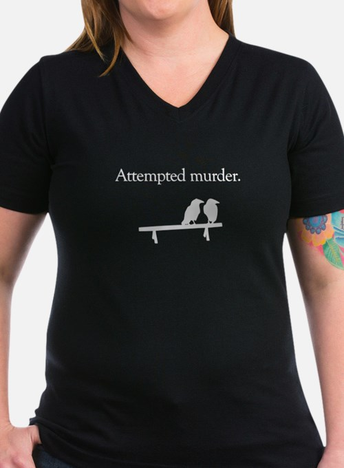 Attempted Murder (white design) T-Shirt