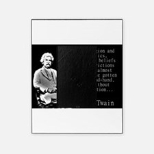 In Religion And Politics - Twain Picture Frame