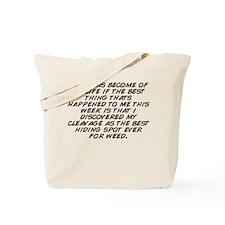 Funny Spots happen Tote Bag