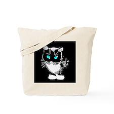 Blue Eyed Cat Tote Bag