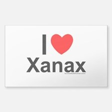 Xanax Sticker (Rectangle)