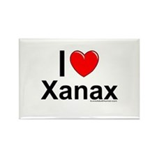 Xanax Rectangle Magnet