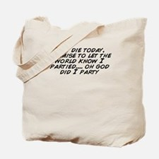Cute Lets party Tote Bag