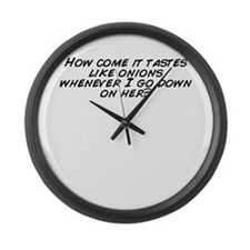 Unique Come down Large Wall Clock