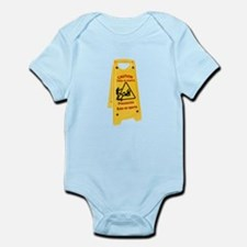 CAUTION THIS IS SPARTA Infant Bodysuit