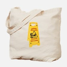 CAUTION THIS IS SPARTA Tote Bag