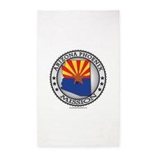 Arizona Phoenix LDS Mission State Flag Cutout 3'x5
