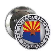 Arizona Tempe LDS Mission State Flag Cutout 2.25""