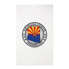 Arizona Tempe LDS Mission State Flag Cutout 3'x5'