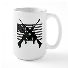 AR-15 and Revolutionary Flag Mug
