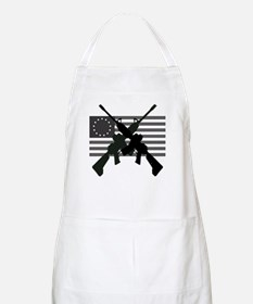 AR-15 and Revolutionary Flag Apron