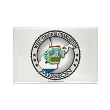 West Virginia Charleston LDS Mission State Flag Re