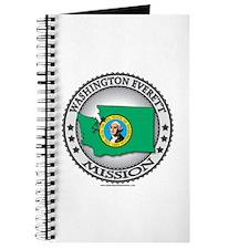 Washington Everett LDS Mission State Flag Journal