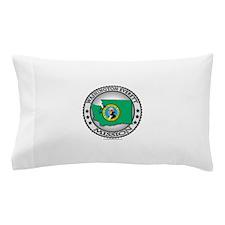 Washington Everett LDS Mission State Flag Pillow C
