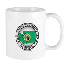 Washington Everett LDS Mission State Flag Mug