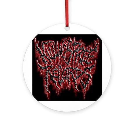 Killing Spree Records logo Ornament (Round)