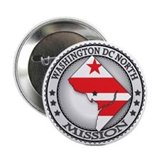 Washington DC North LDS Mission State Flag Cutout