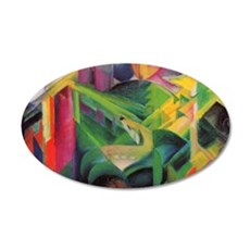 Deer by Franz Marc Wall Decal
