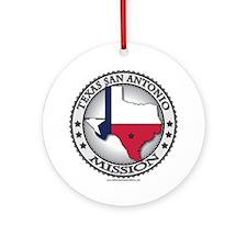 Texas San Antonio LDS Mission State Flag Cutout G