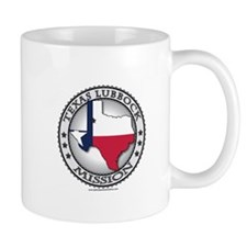 Texas Lubbock LDS Mission State Flag Cutout Gifts