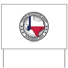 Texas Houston East LDS Mission State Flag Cutout Y