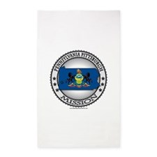 Pennsylvania Pittsburgh LDS Mission State Flag Cu