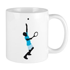 male tennis player Tasse