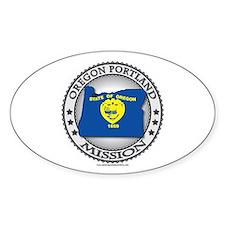 Oregon Portland LDS Mission State Flag Cutout Gif