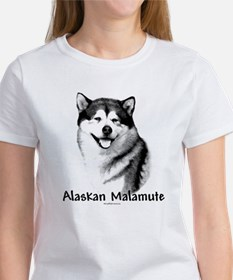 Malamute Charcoal Women's T-Shirt