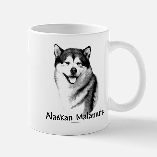 Malamute Charcoal Mug