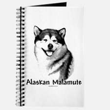 Malamute Charcoal Journal