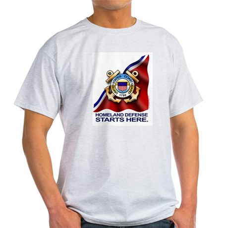 U.S. Coast Guard Ash Grey T-Shirt
