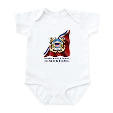 U.S. Coast Guard Infant Bodysuit
