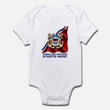 U.S. Coast Guard Infant Bodysuit