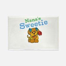 Nanas Sweetie Rectangle Magnet